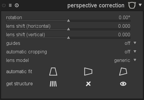 A new module for automatic perspective correction | darktable